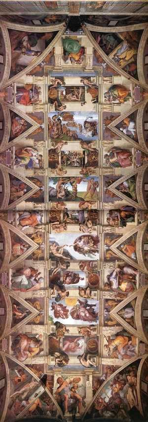 Michelangelo - Ceiling of the Sistine Chapel