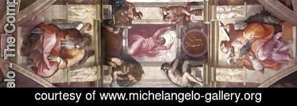 Michelangelo - Ceiling of the Sistine Chapel - bay 9