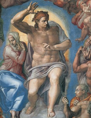 Michelangelo - The Last Judgement: Christ the Judge