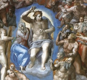 The Last Judgement [detail: 1]