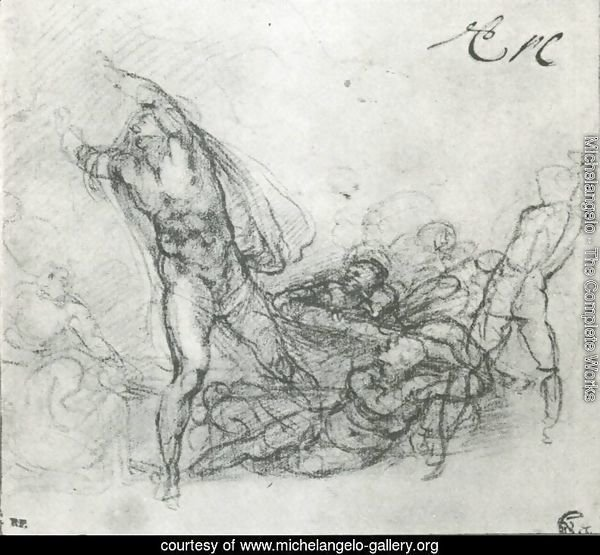 Study for a Resurrection of Christ