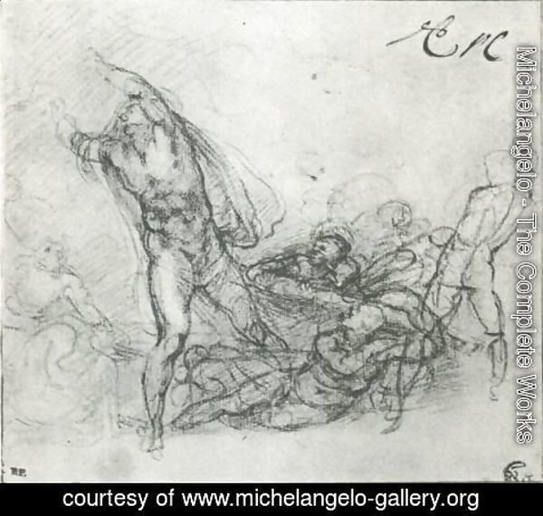 Michelangelo - Study for a Resurrection of Christ