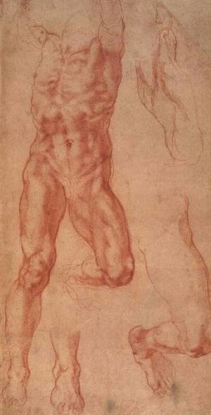 Michelangelo - Study for Haman