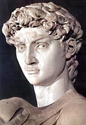 Michelangelo - David [detail]