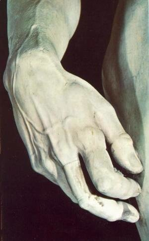 Michelangelo - David [detail] I