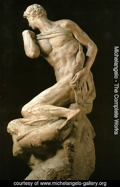 Michelangelo - Victory [detail: 1]
