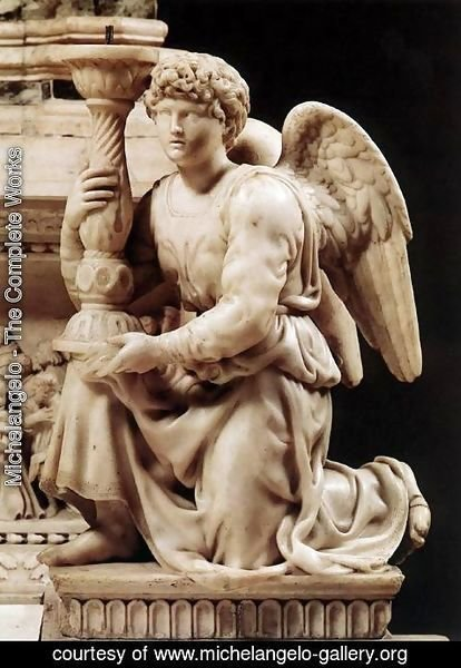 Michelangelo - Angel with Candlestick