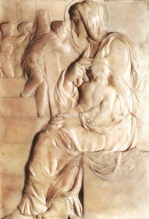 Michelangelo - Madonna of the Stairs