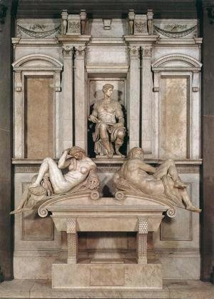 Michelangelo - Tomb of Giuliano de Medici