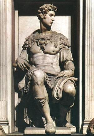 Michelangelo - Tomb of Giuliano de' Medici: Giuliano de' Medici