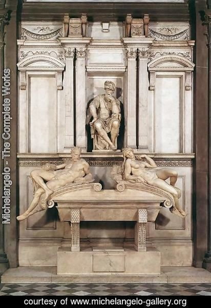 Michelangelo - Tomb of Lorenzo de Medici