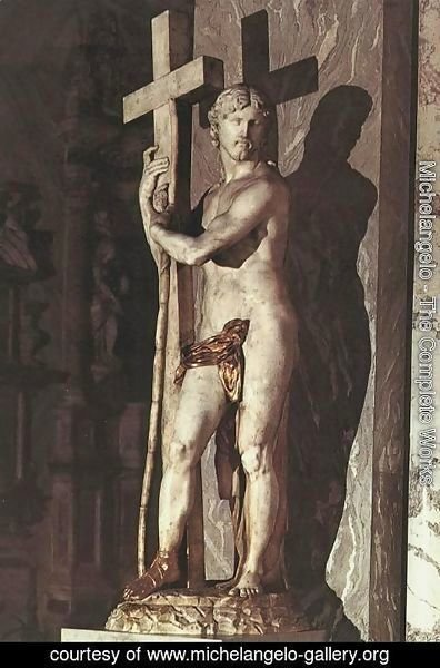 Michelangelo - Christ Carrying the Cross