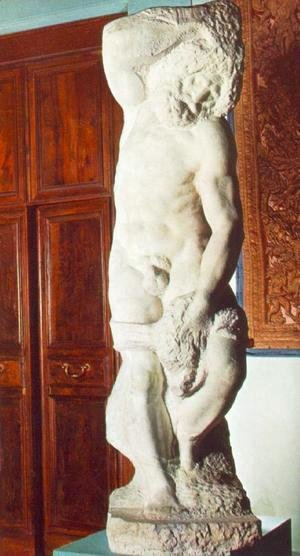 Michelangelo - Slave (bearded)