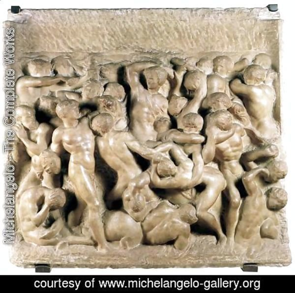 Michelangelo - Battle of the Lapiths and Centaurs