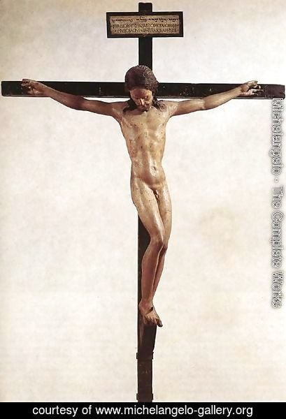 Michelangelo - Crucifix