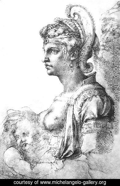 Michelangelo - Allegorical figure