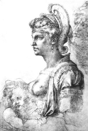 Allegorical figure
