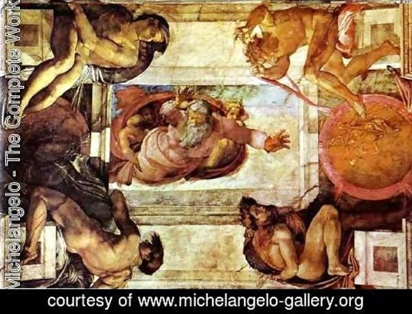Michelangelo - The Separation of Land and Water