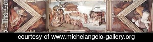 Michelangelo - The second bay of the ceiling