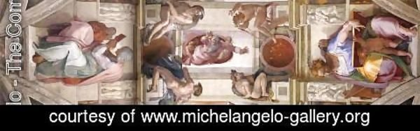 Michelangelo - The seventh bay of the ceiling