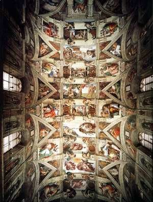 Michelangelo - The ceiling