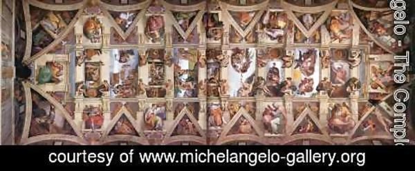 Michelangelo - The ceiling 2