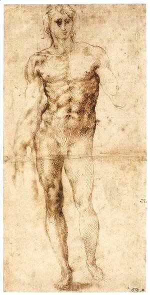 Male Nude (recto)