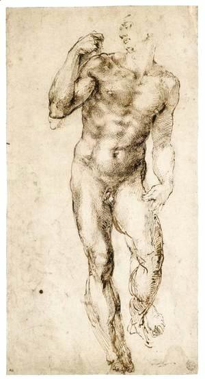 Male Nude (recto) 2