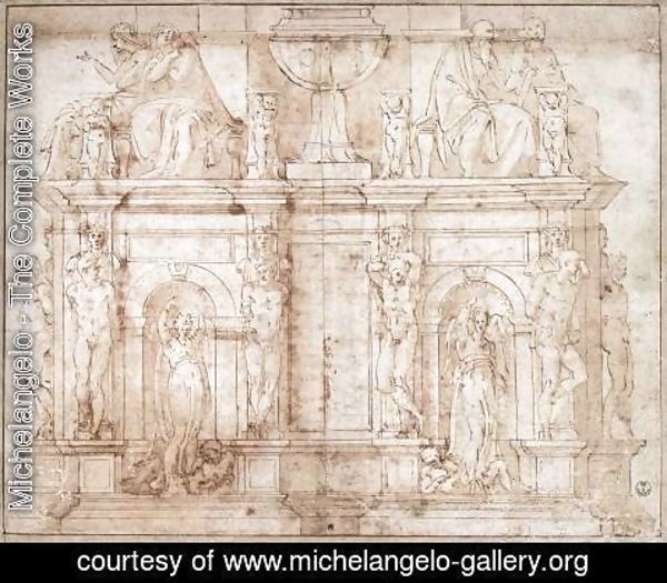 Michelangelo - Tomb of Julius II