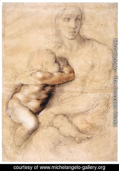 Michelangelo - Madonna and Child 2