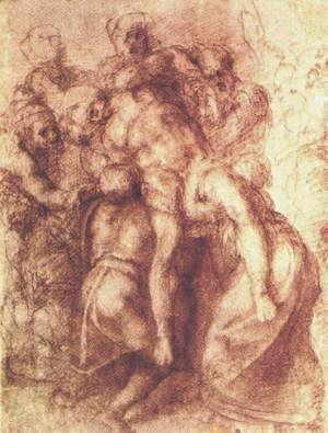 Michelangelo - Descent from the Cross