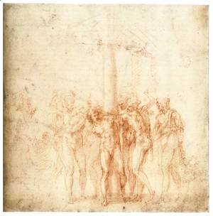 Michelangelo - The Flagellation of Christ
