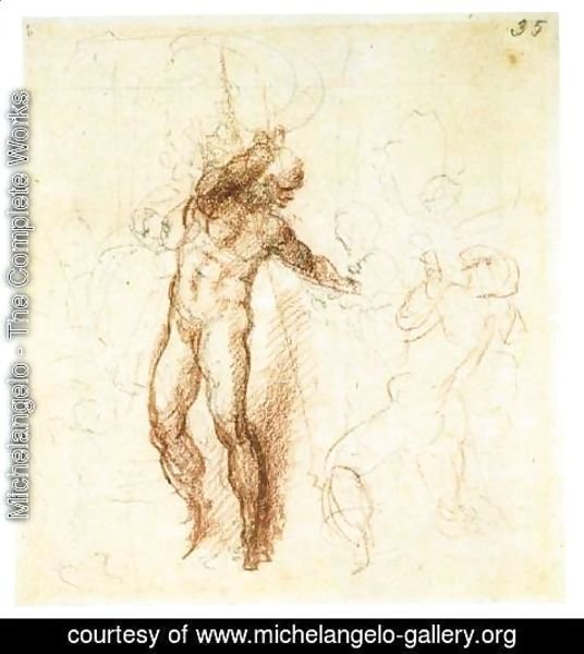 Michelangelo - Christ in Limbo