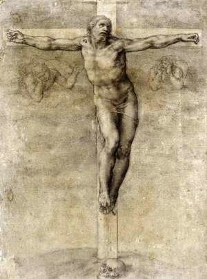 Michelangelo - Study to Crucifixion