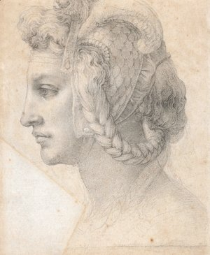 Michelangelo - Ideal head of a woman