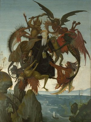 Michelangelo - The Torment of Saint Anthony