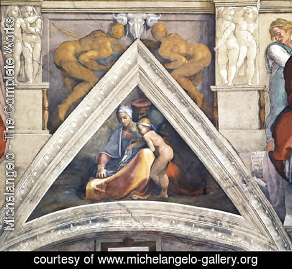 Michelangelo - The Ancestors of Christ Salmon