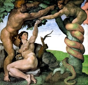 Michelangelo - Adam and Eve