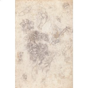 Michelangelo - Studies for The Last Judgement