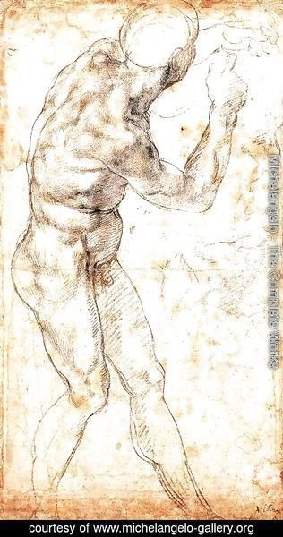Michelangelo - Study to Battle of Cascina