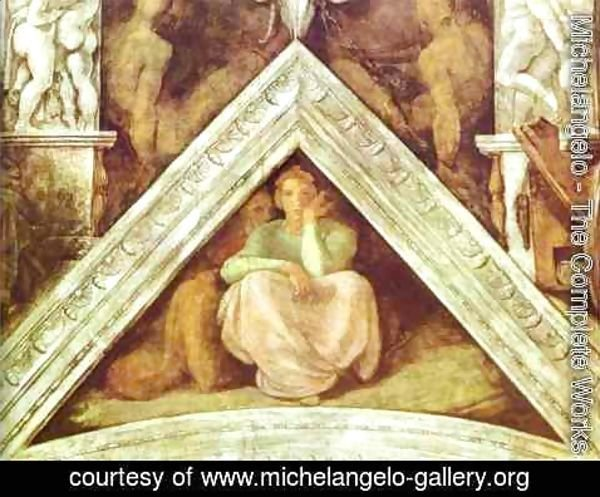 Michelangelo - The Ancestors of Christ Jesse