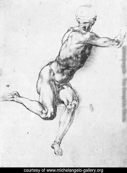 Battle Of Cascina  Study For A Figure