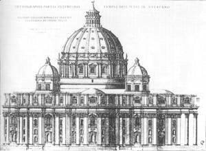 Project for St Peter's in Rome 1547