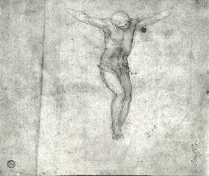 Michelangelo - Study For A Christ On The Cross