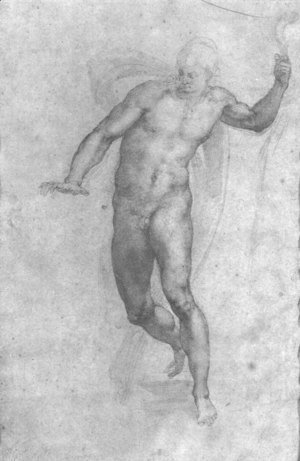 Michelangelo - Study For A Risen Christ