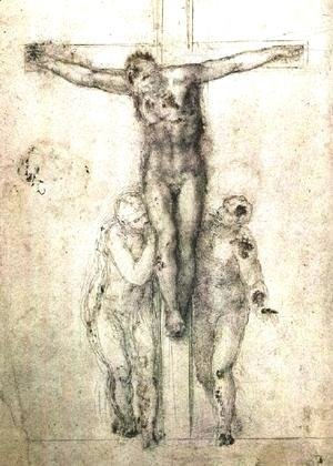 Michelangelo - Crucifix c. 1556