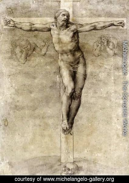 Michelangelo - Christ On The Cross 1541