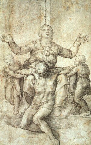 "Study for ""The Colonna Pieta"""