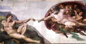 Michelangelo - Creation of Adam  1510