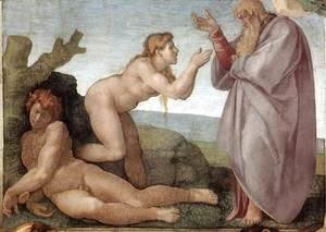 Michelangelo - Creation of Eve 1509-10